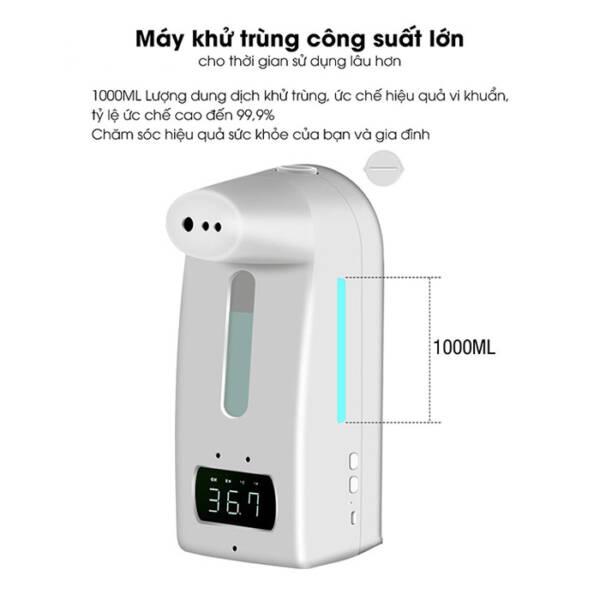 Máy đo thân nhiệt, xịt khuẩn 18 Pro/K10 Pro _ 3