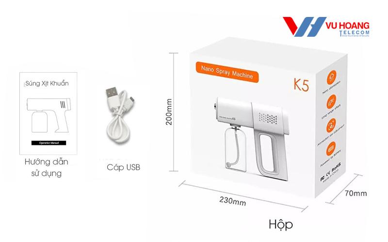 Máy phun khử trùng mini Nano K5
