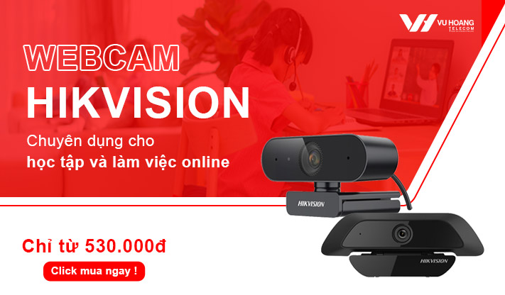 Webcam Hikvision học online giá rẻ
