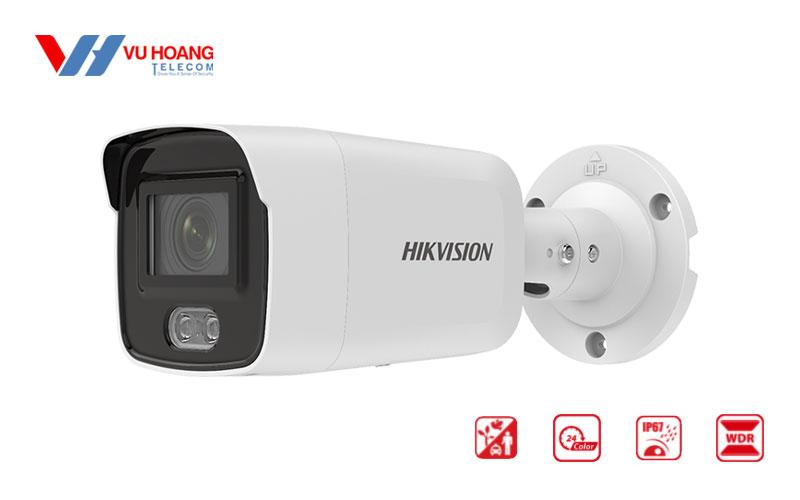 Bán camera IP Colorvu 2MP HIKVISION DS-2CD2027G2-LU giá rẻ
