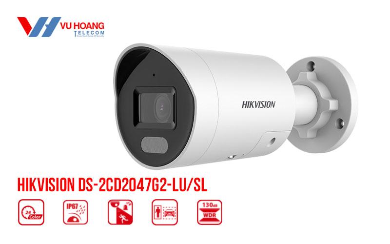 Bán camera IP Colorvu 4MP HIKVISION DS-2CD2047G2-LU/SL giá rẻ
