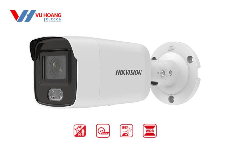Bán camera IP Colorvu 4MP HIKVISION DS-2CD2047G2-LU giá rẻ
