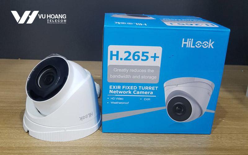 Bán camera IP Dome 2MP HiLook IPC-T221H-U giá rẻ
