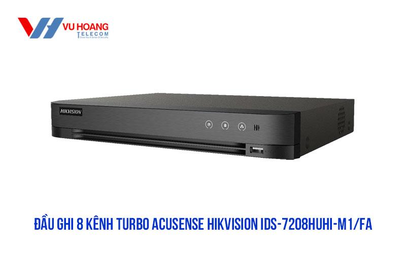 Bán đầu ghi Turbo ACUSENSE HIKVISION iDS-7208HUHI-M1/FA giá rẻ