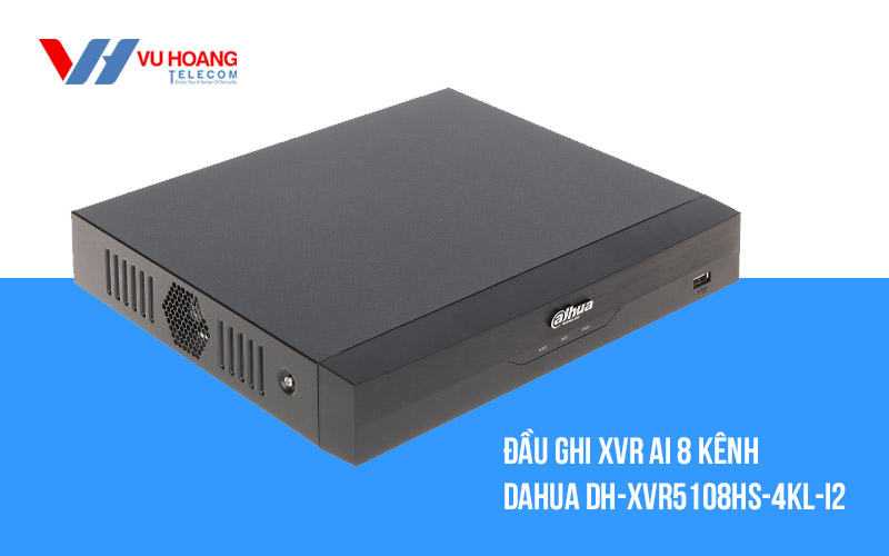 Bán đầu ghi XVR Ai 8 kênh DAHUA DH-XVR5108HS-4KL-I2 giá rẻ