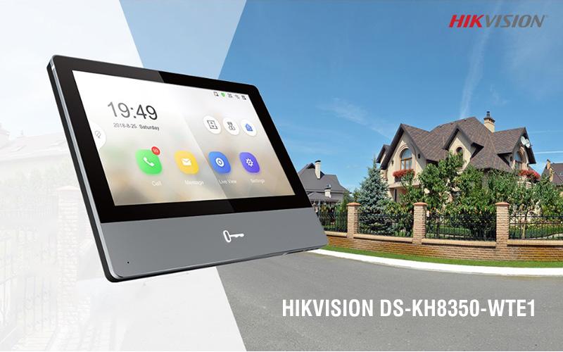 Bán màn hình chuông cửa IP HIKVISION DS-KH8350-WTE1 giá rẻ