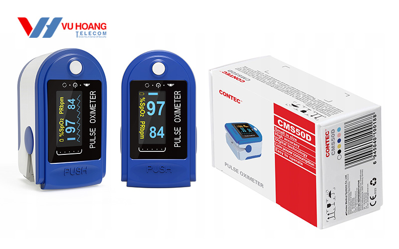 Máy đo nồng độ oxy trong máu CONTEC CMS50D