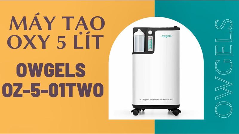 Bán máy tạo oxy OWGELS OZ-5-01TWO (5 lít) giá rẻ, chính hãng