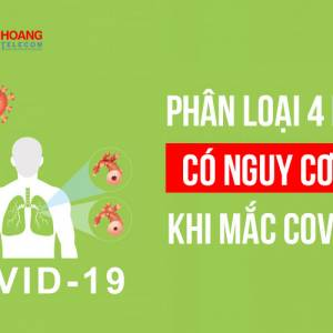 Phân loại 4 nhóm có nguy cơ cao khi mắc COVID-19