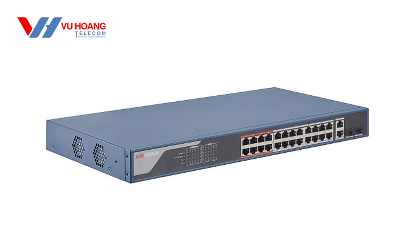 Bán Switch POE 24 cổng HIKVISION DS-3E1326P-EI giá rẻ