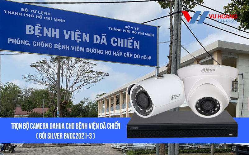Lắp đặt trọn bộ camera DAHUA cho bệnh viện dã chiến giá rẻ