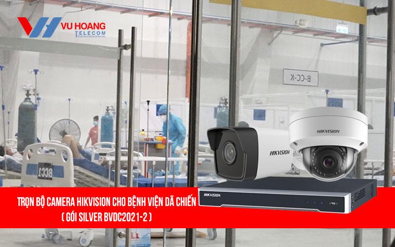 Lắp đặt trọn bộ camera HIKVISION cho bệnh viện dã chiến giá rẻ