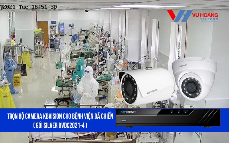 Lắp đặt trọn bộ camera KBVISION cho bệnh viện dã chiến giá rẻ