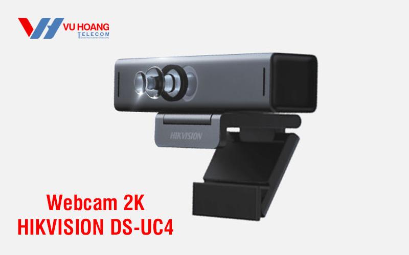 Bán Webcam trực tuyến 2K HIKVISION DS-UC4 giá rẻ, chính hãng