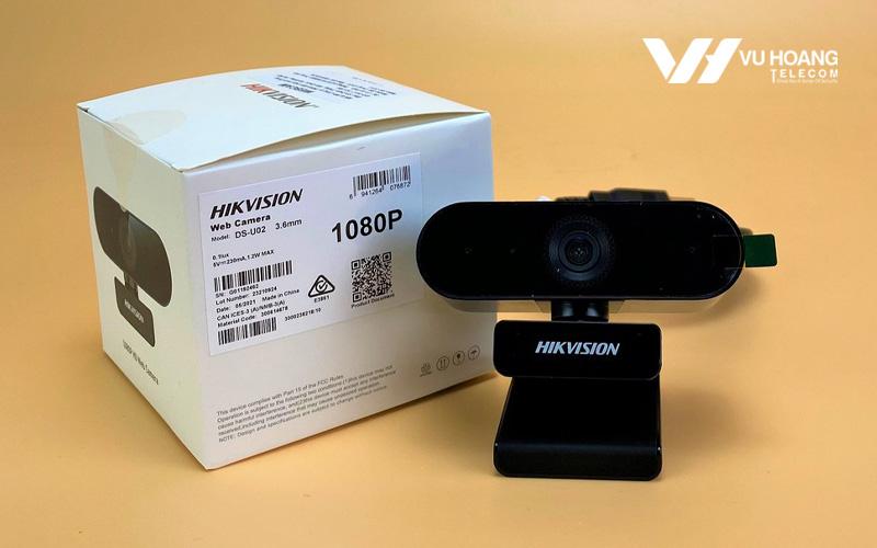 Bán Webcam trực tuyến HD1080P HIKVISION DS-U02 giá rẻ, chính hãng