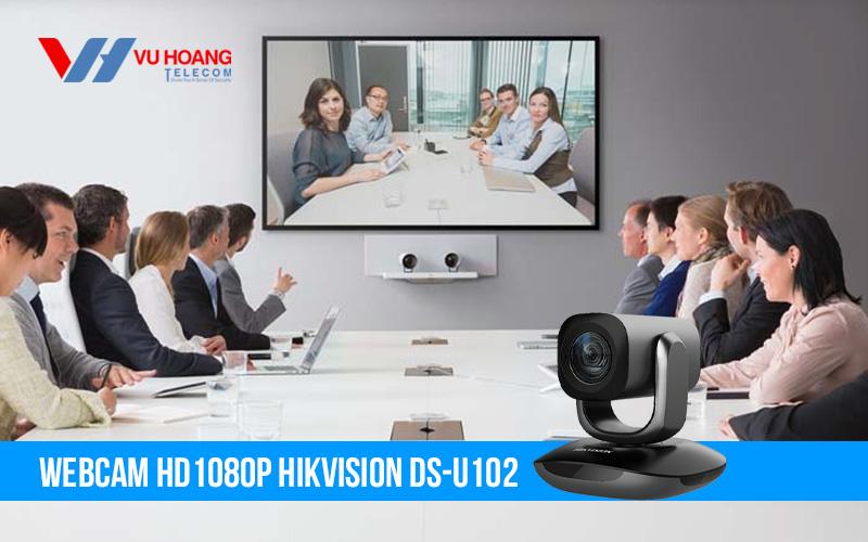 Bán Webcam hội nghị trực tuyến HD1080P HIKVISION DS-U102 giá rẻ
