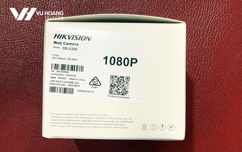 Bộ Webcam HD1080P HIKVISION DS-U320 - 4