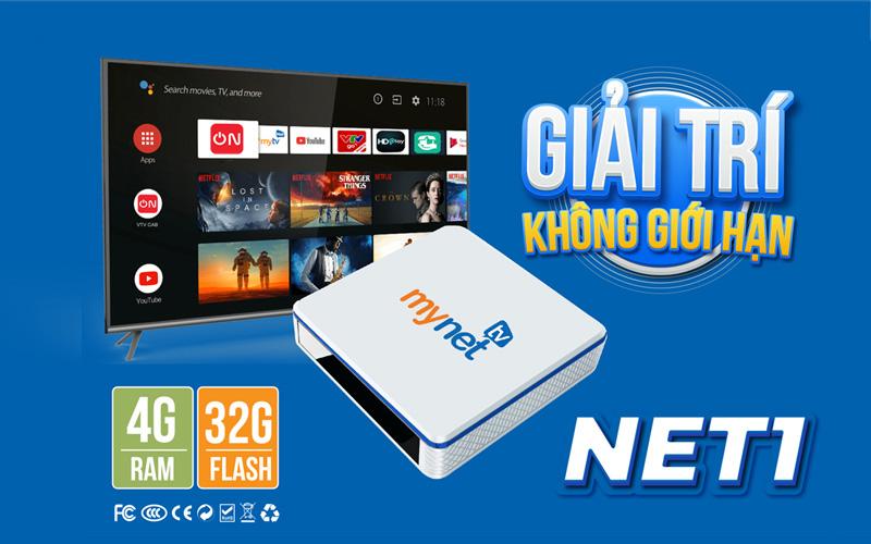 Bán Android Tv Box MYNET TV 4H Ram 4G, Rom 32G giá rẻ