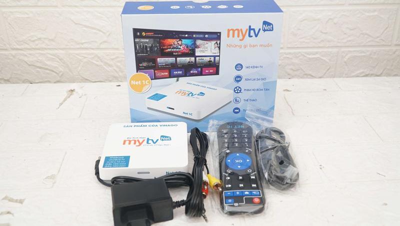Bán Android Box MYTV NET 1C bản Ram 2G, Rom 16G giá rẻ