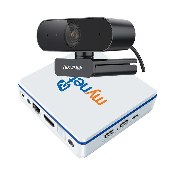 Combo WEBBOX 1 MYNET TV 4H + Webcam DS-U320