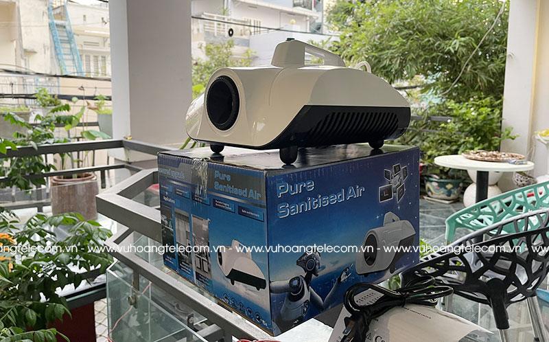 Bộ máy phun sương WT-1000w thực tế tại Vuhoangtelecom