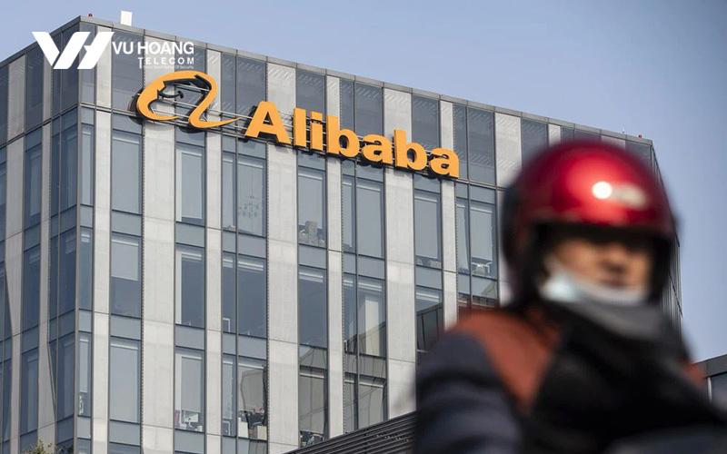 Trụ sở Alibaba tại Trung Quốc.