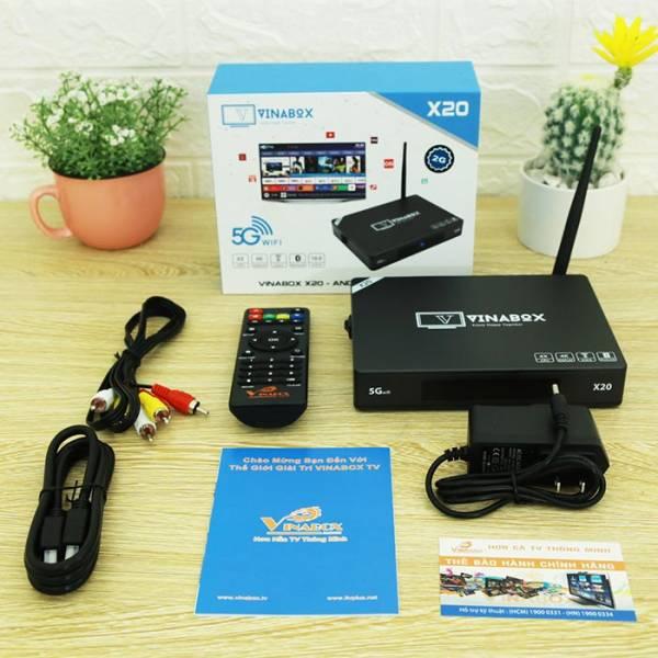 TV Box Vinabox X20 RAM 2GB - 2