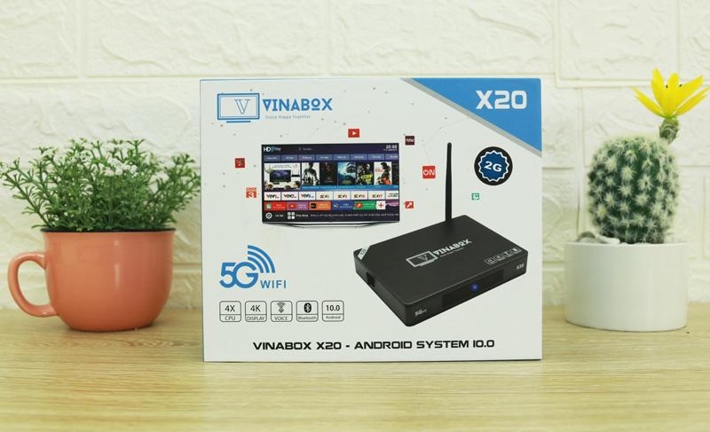 Trọn bộ Box Vinabox X20