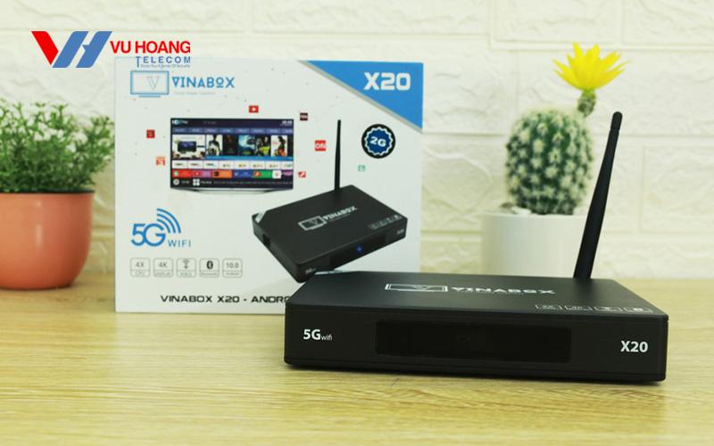 Bán TV Box Vinabox X20 RAM 4GB Android 10 giá rẻ, chính hãng