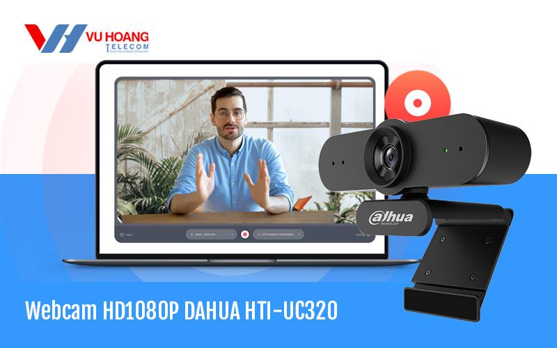 Bán Webcam trực tuyến HD1080P DAHUA HTI-UC320 giá rẻ, chính hãng