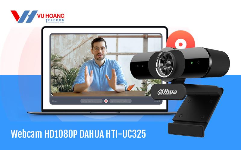 Bán Webcam trực tuyến HD1080P DAHUA HTI-UC325 giá rẻ, chính hãng