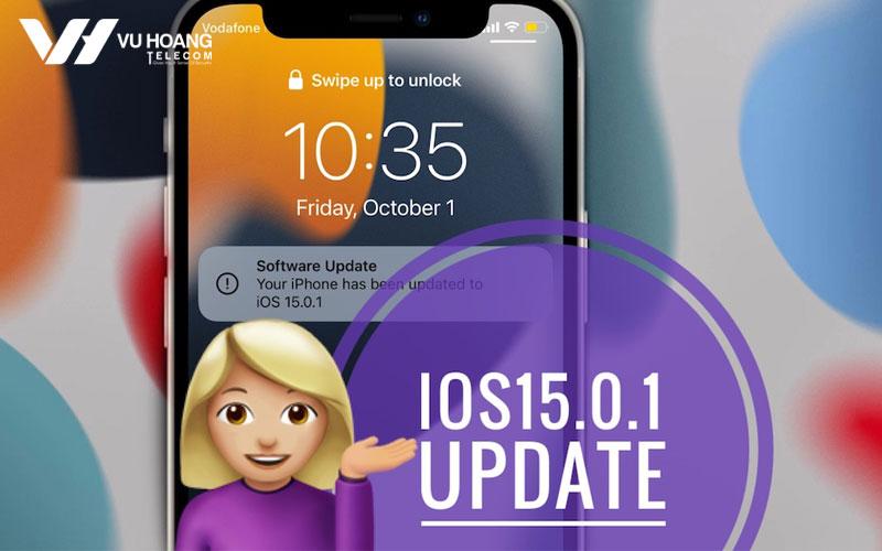 apple cap nhat ios 15.0.1 va ipados 15.0.1