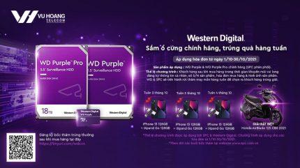 Mua ổ cứng WD chính hãng nhận quà giá trị tại Vuhoangtelecom