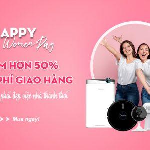 Mừng Ngày Phụ Nữ Việt Nam 20.10 Giảm giá đặc biệt đến 50%
