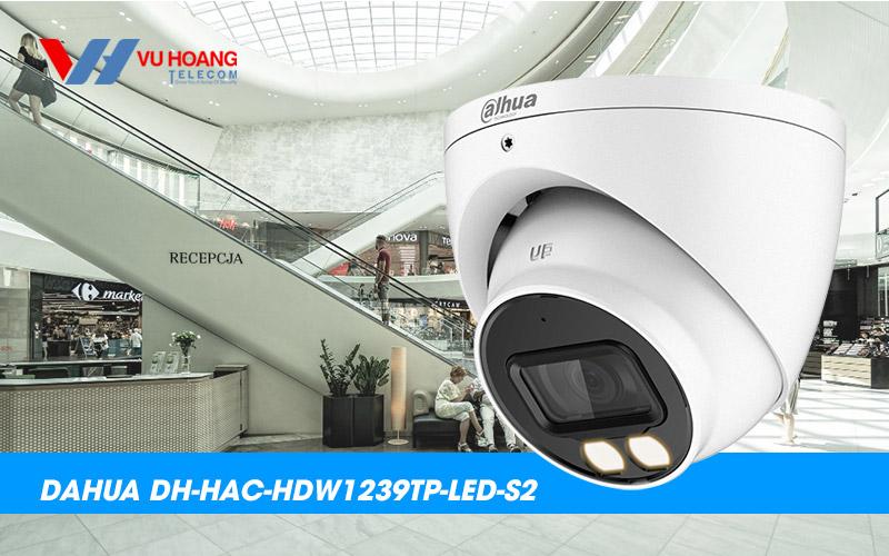 Bán camera HDCVI 2MP DAHUA DH-HAC-HDW1239TP-LED-S2 giá rẻ
