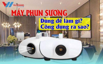 may phun suong dung de lam gi