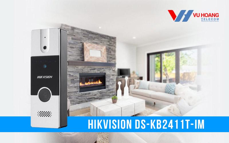 Bán nút ấn camera chuông cửa Hikvision DS-KB2411T-IM giá rẻ