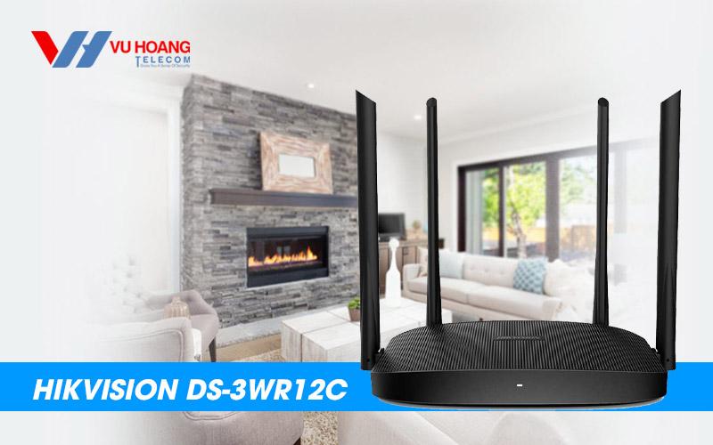 Bán Router Wifi cho gia đình HIKVISION DS-3WR12C giá rẻ