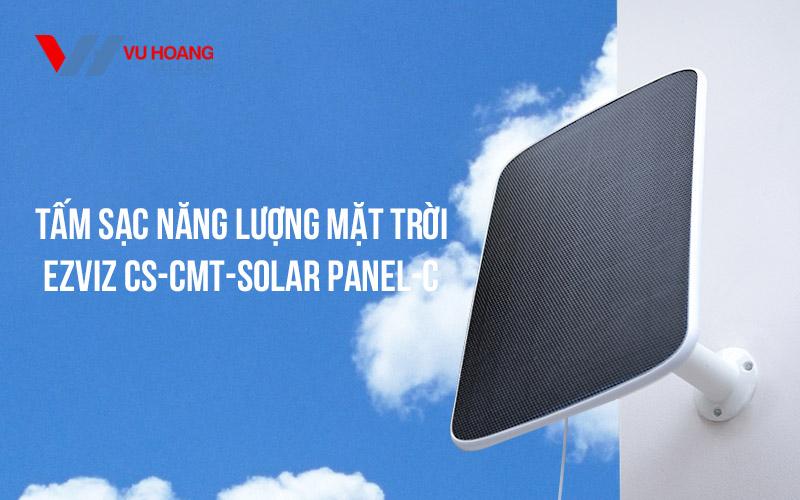 Bán tấm sạc năng lượng mặt trời EZVIZ CS-CMT-Solar Panel-C giá rẻ